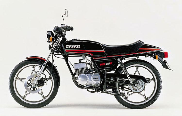 1981年2月 RG50E ブラック