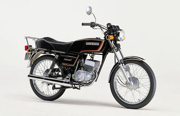 1981年3月 RG50T ブラック