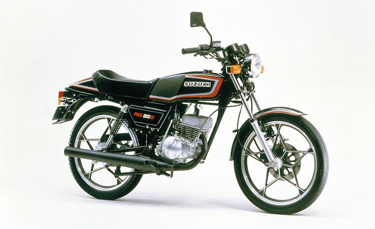 1982年3月 RG50E ブラック