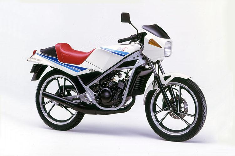 1985年3月 RG50Γ スーパーホワイト
