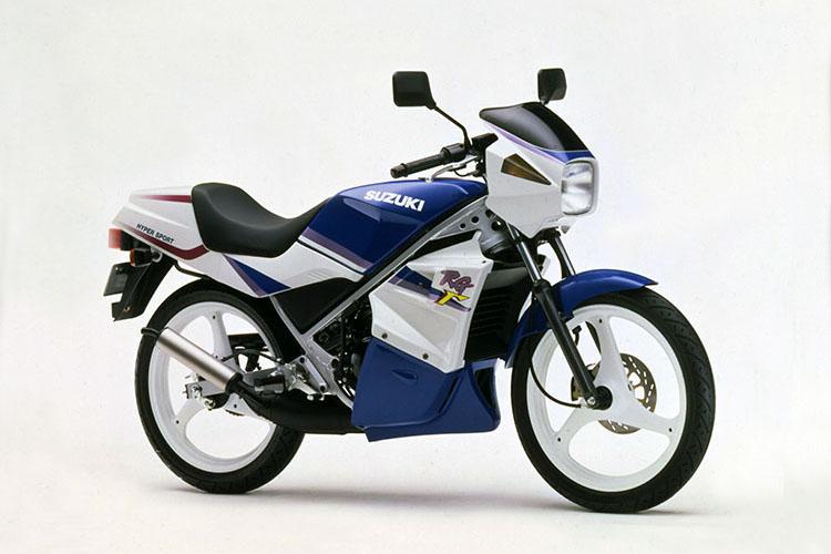 1995年3月 RG50Γ スペシャルホワイトNo.3×ダイナミックブルーNo.4