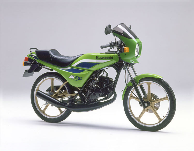 1984年9月 AR50S ライムグリーン
