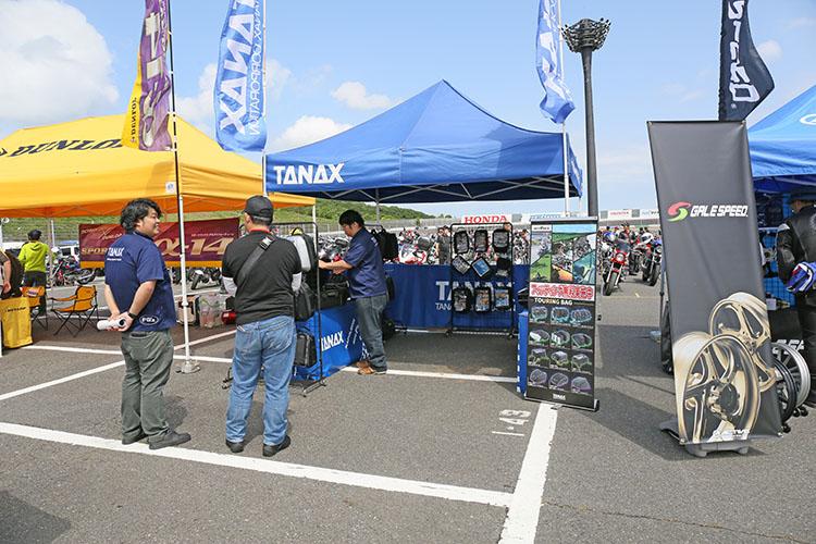 ツーリング必携アイテムのタンク・シートバッグなどを扱うTANAXのテント