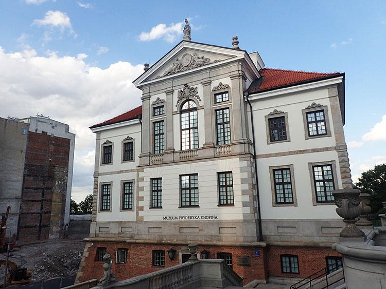 7ワルシャワではショパン博物館へ