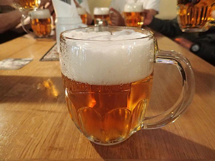 チェコの黄金ビールは世界一!