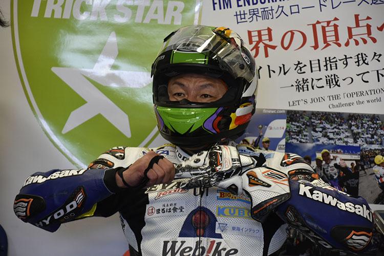1万人のサポーターの力で世界の頂点を目指そうという「イカヅチ作戦」(http://www.mr-bike.jp/?p=128925 )が進行中のトリックスターからは出口修が参戦