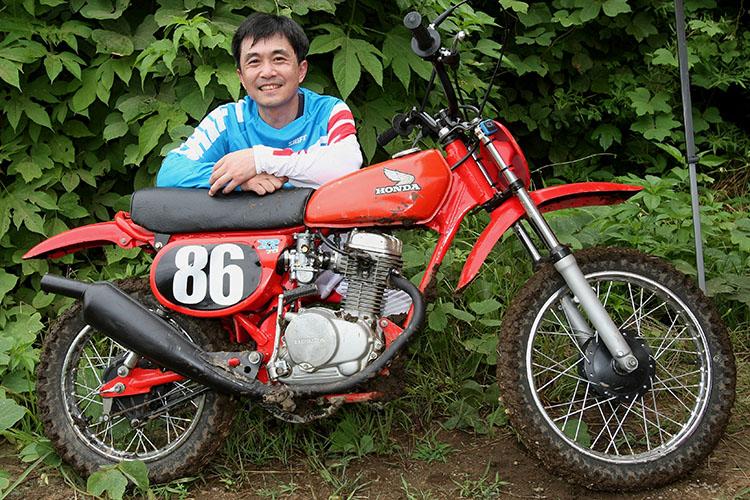 M40モリタさん+ホンダXR80 (1979)