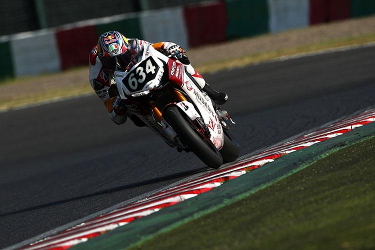 ジャック・ミラー(#634 MuSASHi RT HARC-PRO. Honda)はテストから積極的にマシンについてコメントを出していました。なんでもカッコよく乗りこなす選手