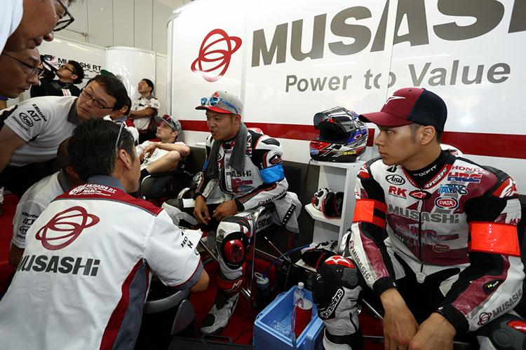 #634 MuSASHi RT HARC-PRO. Hondaは、スーパーポールはジャック・ミラーは出走せず、中上貴晶と高橋 巧で挑んだ