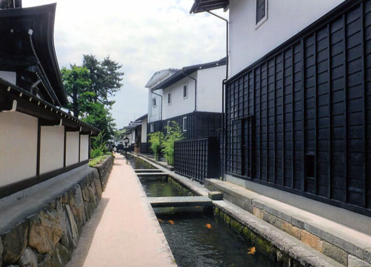 飛騨古川の町