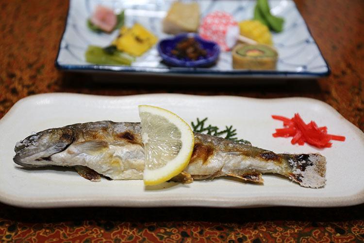「藤乙」の夕食