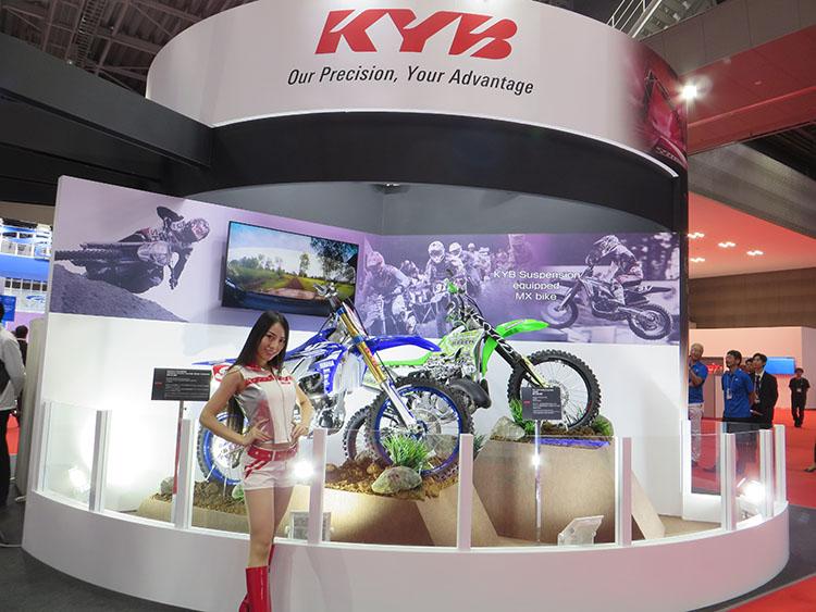 KYBのブース