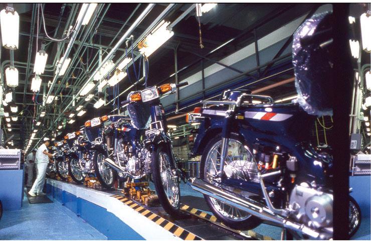 1991年鈴鹿工場