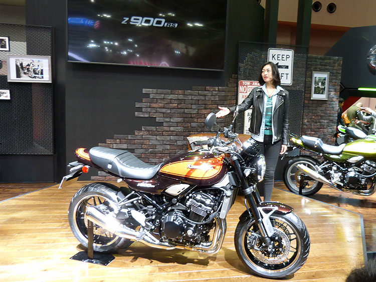 Z900RS。