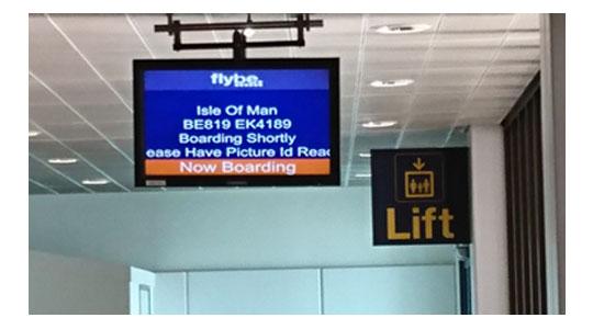 フライビー航空BE819便マン島行き