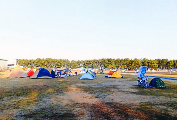 道渚園キャンプ場