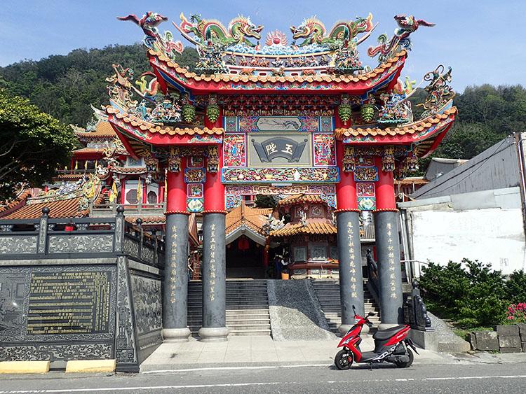 3途中のお寺で道中祈願