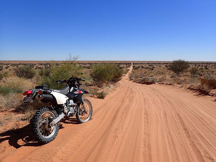 2ビッグレッドと呼ばれる砂丘へアタック