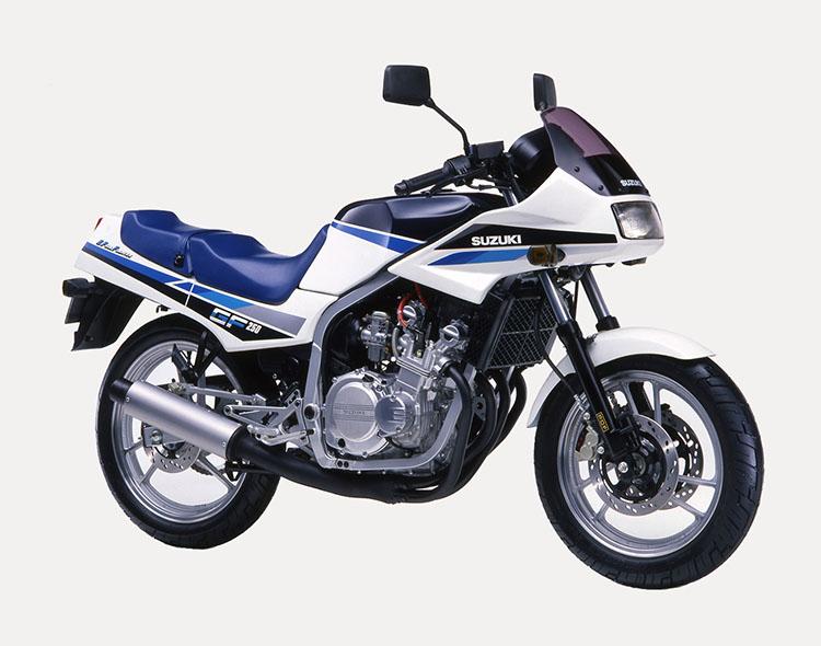 GF250S(GJ71C) プラシャンブルーメタリック×スペシャルホワイト