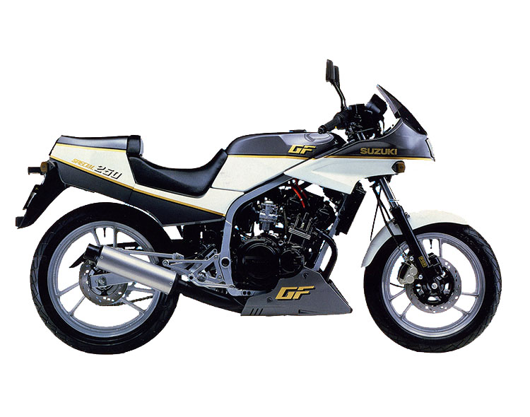 GF250S SPECIAL(GJ71C) ホワイト・グレーツートン