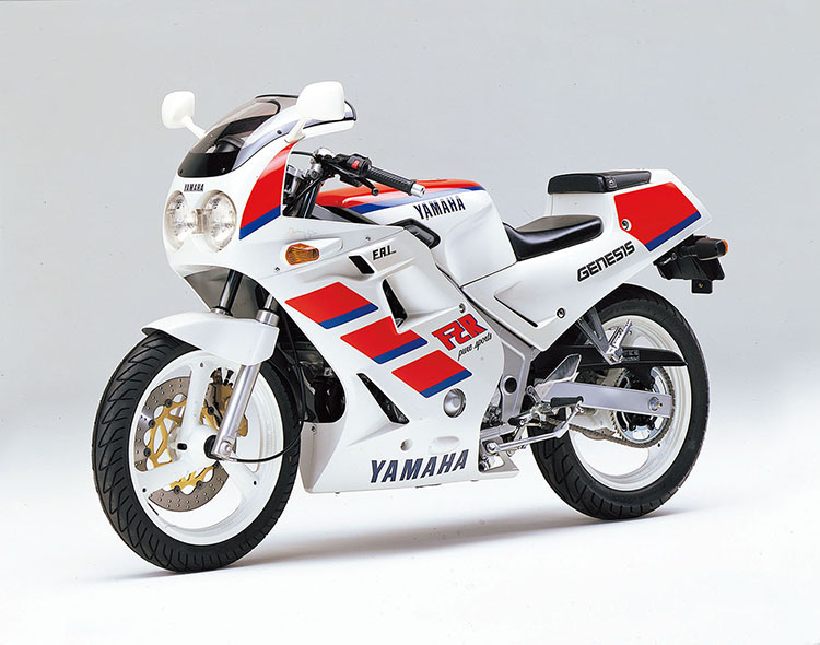FZR250(3HX1) シルキーホワイト