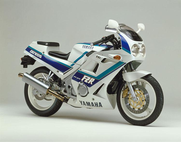 FZR250(3HX2) シルキーホワイト×ダイナステイブルー