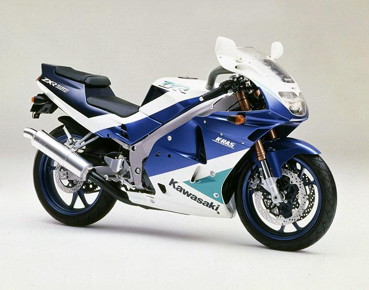 ZXR250(C1) メタリックソニックブルー×メタリックノクターンブルー×パールアルペンホワイト