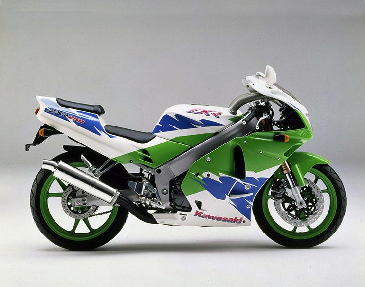 ZXR250R(C4) ライムグリーン×パールアルペンホワイト×ブルー36