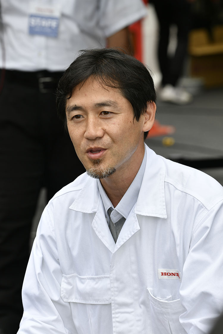 CB1300SP LPL 本田技術研究所 主任研究員 谷口昌幸氏