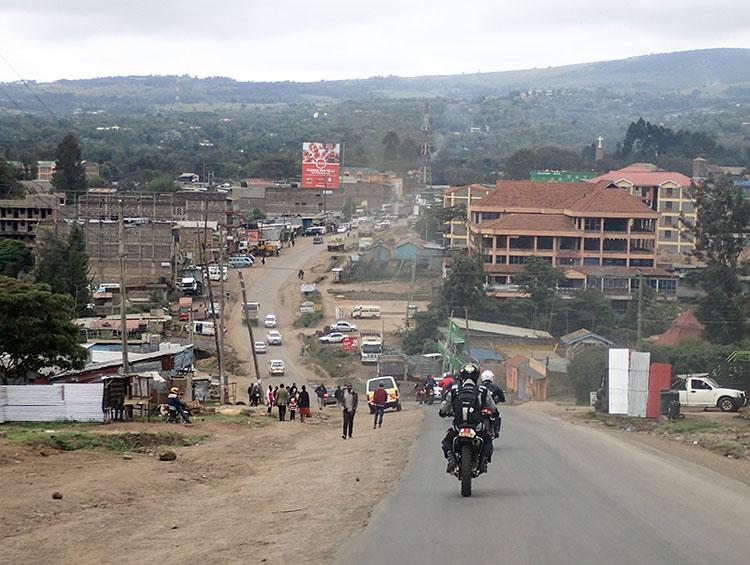 2ナイロビ出発直後の風景