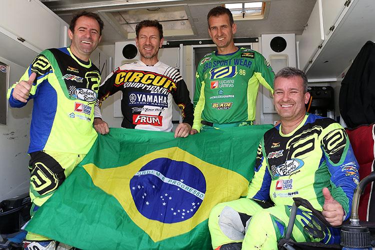 ブラジルからの4人