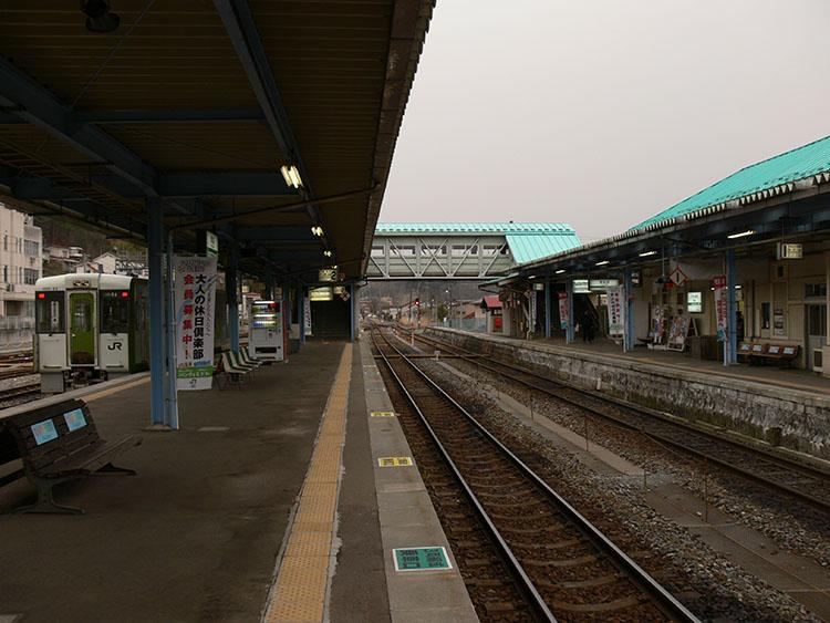 気仙沼駅2007年