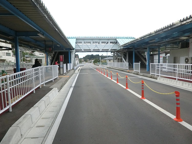 気仙馬駅2016年
