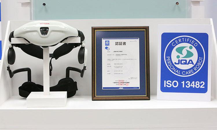 ISO13482の認証を取得