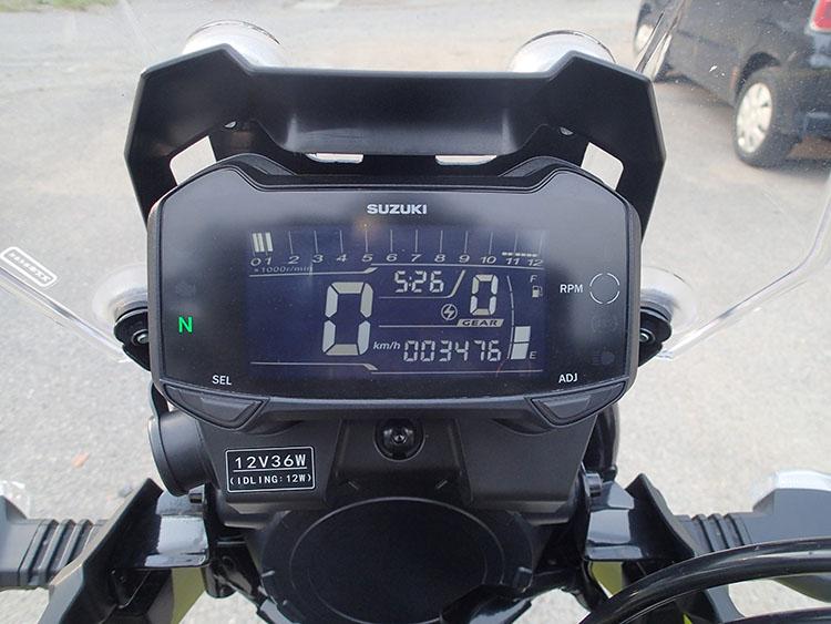 走行距離は3476km