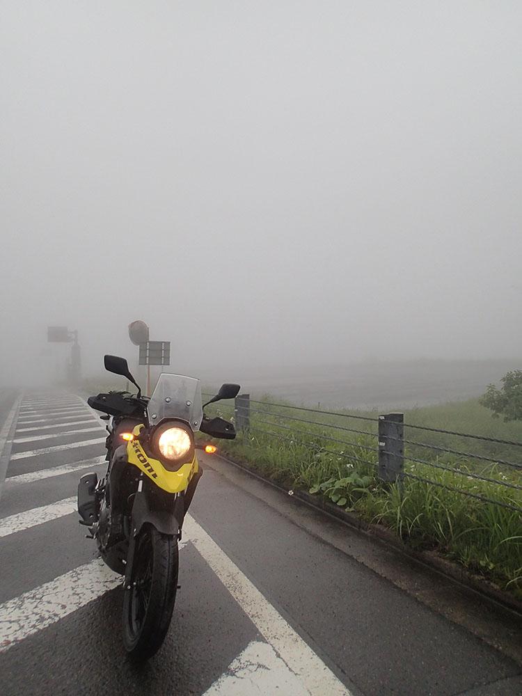 霧がピークに達した